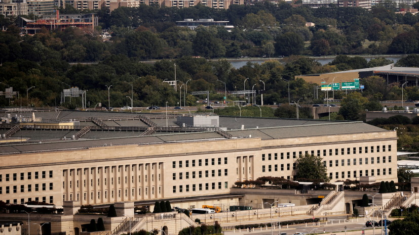 При стрельбе у здания Пентагона пострадали несколько человек