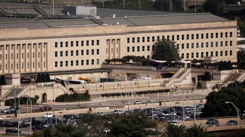 Politico: стрелявший у здания Пентагона нейтрализован