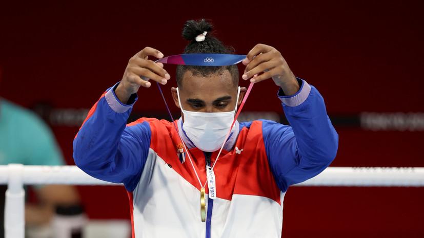 Кубинец Лопес завоевал золото ОИ в боксе