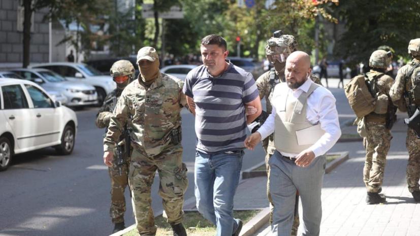 Угрожавший взорвать гранату в здании правительства Украины задержан