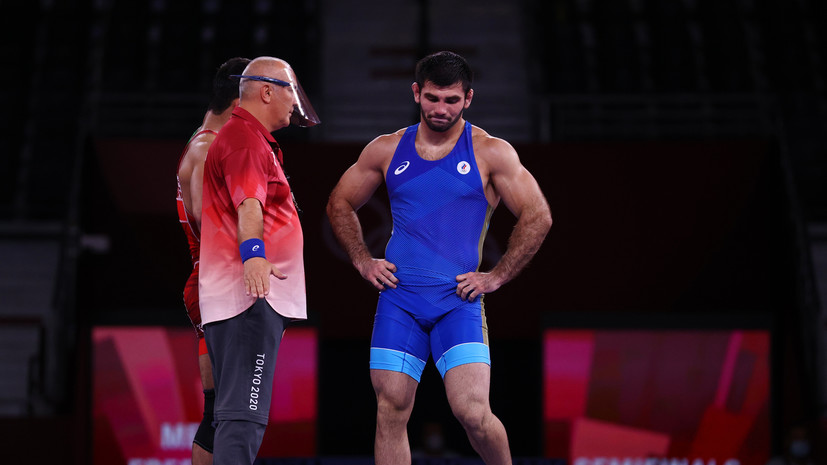 Борец Найфонов пробился в схватку за бронзу ОИ в весе до 86 кг