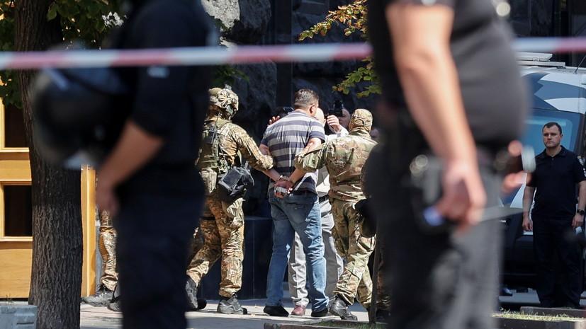 «Ситуация нестандартная, потому что это был участник АТО»: что известно о захвате заложников в здании кабмина Украины
