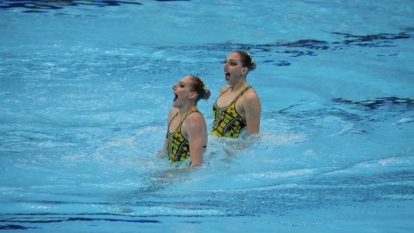 Колесниченко и Ромашина стали олимпийскими чемпионками в синхронном плавании