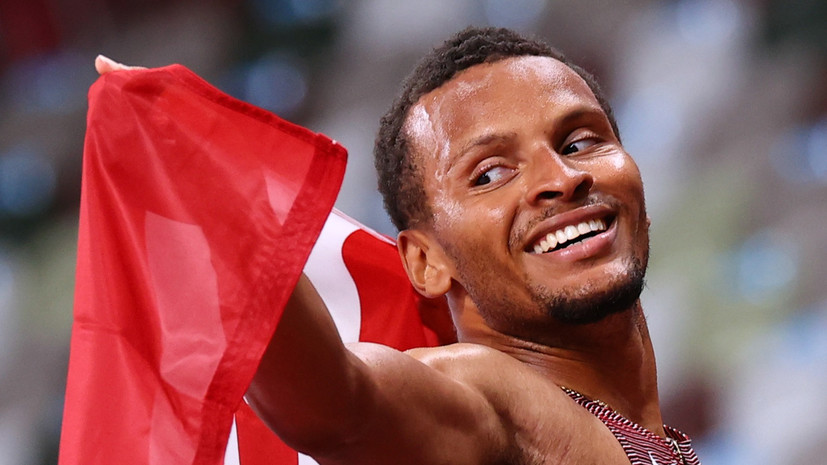 Де Грассе стал олимпийским чемпионом в беге на 200 м