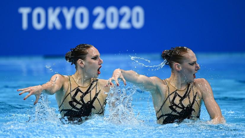 Киборги Данченко: как синхронистки Колесниченко и Ромашина выиграли золото Олимпиады в дуэтах