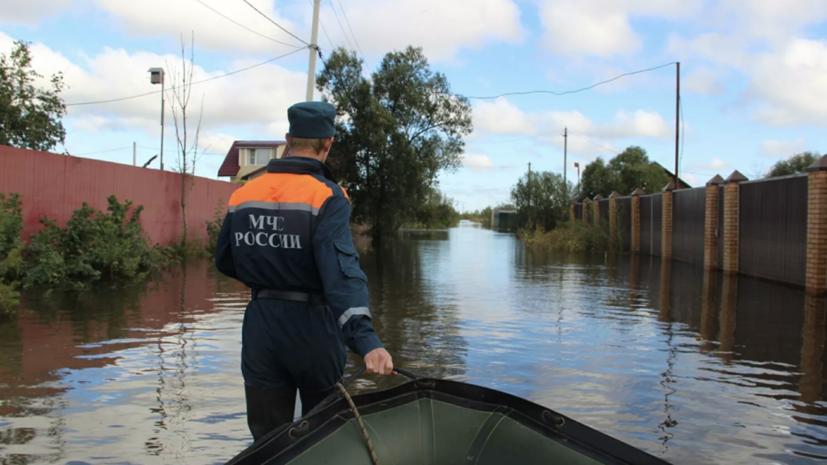 Метеоролог рассказал о паводковой ситуации на юге Дальнего Востока