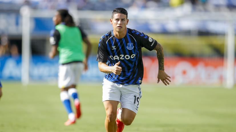 Источник: «Зениту» предложили купить футболиста «Эвертона» Родригеса