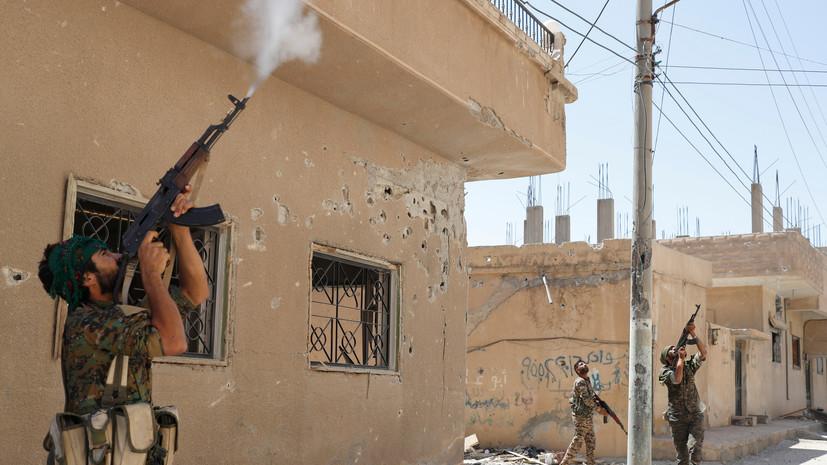 Пять сирийских военных получили ранения при атаке беспилотника