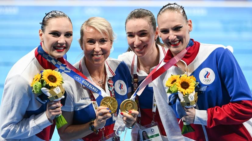«Рыдала и не могла остановиться»: Данченко о своих эмоциях и триумфе Ромашиной и Колесниченко в Токио