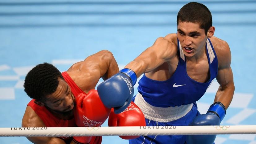 Постоянное давление и молниеносные атаки: как боксёр Батыргазиев победил американца Рэгана и стал олимпийским чемпионом