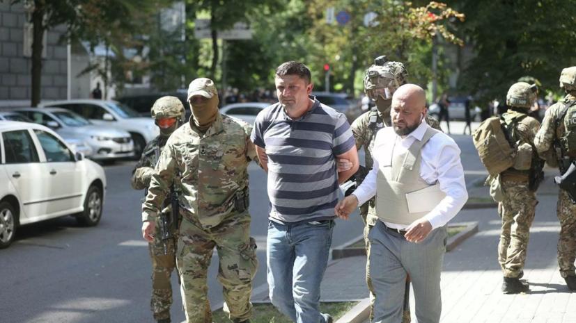 Угрожавший гранатой в здании украинского парламента стал подозреваемым