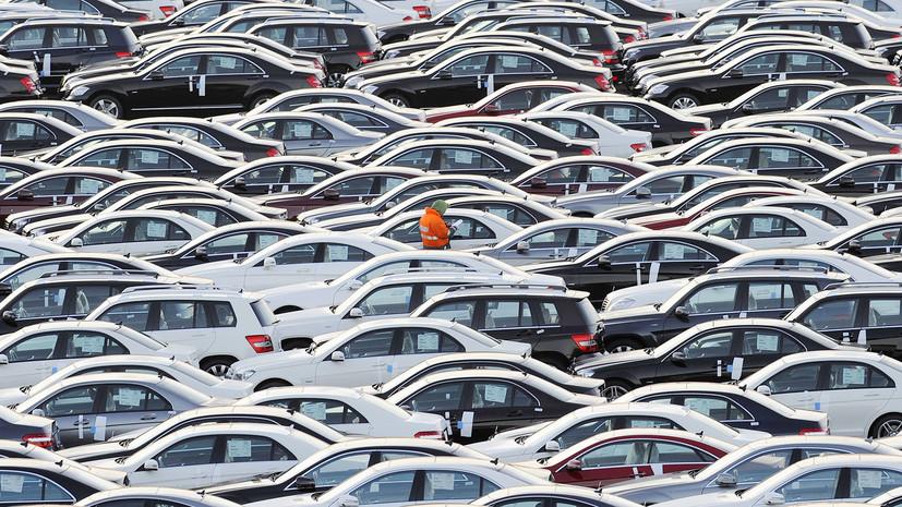 В АЕБ рассказали о сокращении автомобильного рынка в России