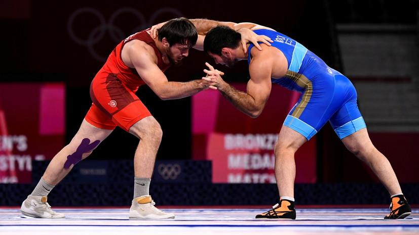 Борец Найфонов стал бронзовым призёром Игр в Токио в весе до 86 кг