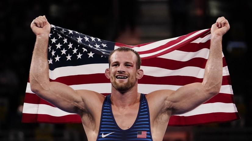 Тейлор завоевал золото ОИ в вольной борьбе в весе до 86 кг