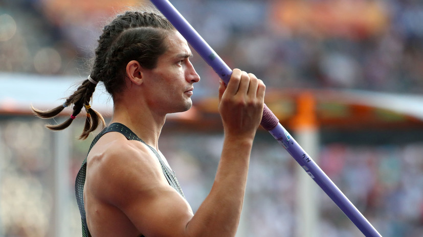 Десятиборец Шкуренёв стал десятым в метании копья на Олимпиаде
