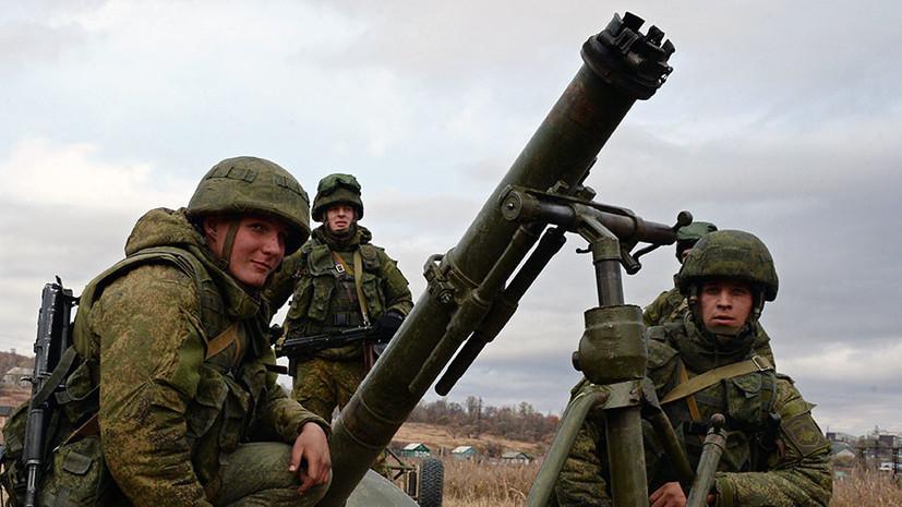 Курсанты военного учебного центра в Крыму провели боевые стрельбы