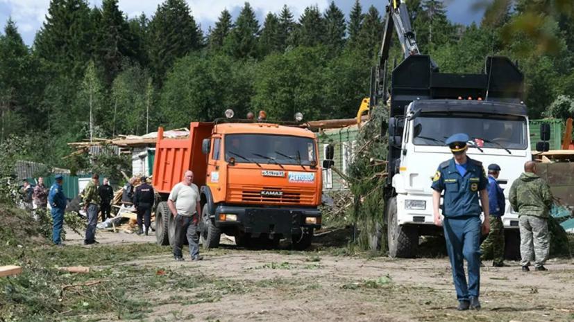 В Тверской области рассказали о ходе восстановительных работ после урагана