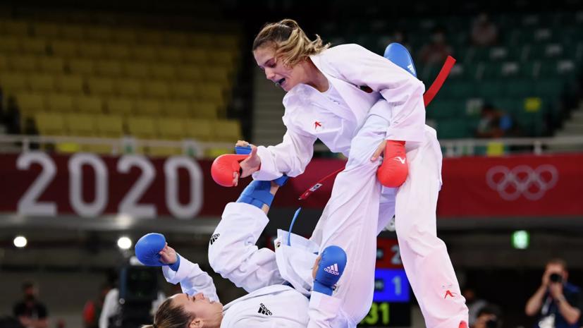 Болгарская каратистка Горанова выиграла золотую медаль ОИ в весовой категории до 55 кг