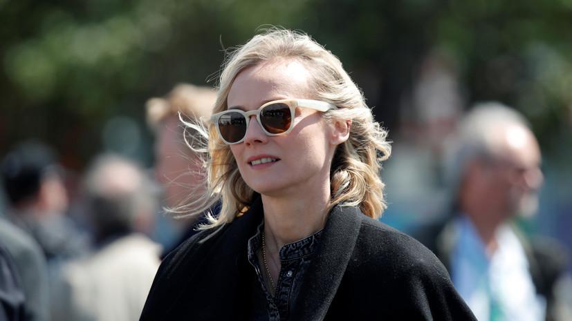 Диана Крюгер заявила, что считает себя интернациональной актрисой