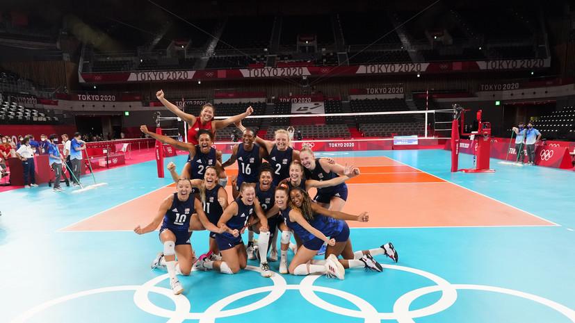 Женская сборная США по баскетболу вышла в финал Олимпиады