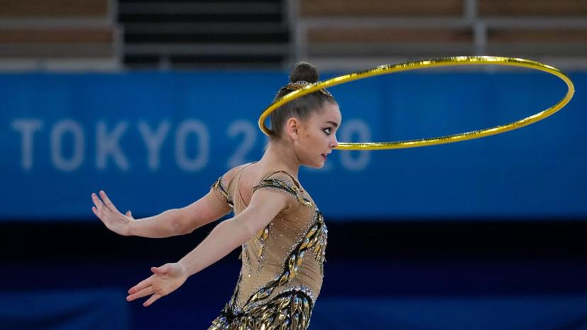 Сёстры Аверины заняли первые два места в квалификации личного многоборья ОИ в Токио