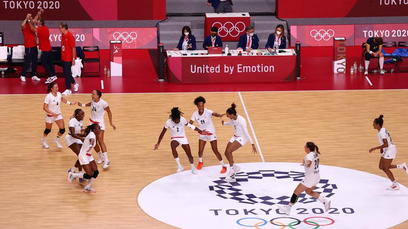 Французские гандболистки вышли в финал ОИ в Токио