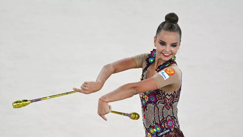 Аверина заявила, что ждала финала Олимпиады по художественной гимнастике всю жизнь