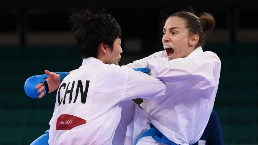 Сербская каратистка Прекович завоевала золото ОИ в Токио