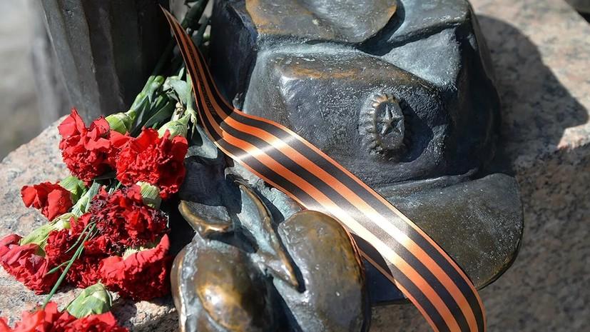 В Белоруссии перезахоронили останки погибших в 1944 году советских военнослужащих