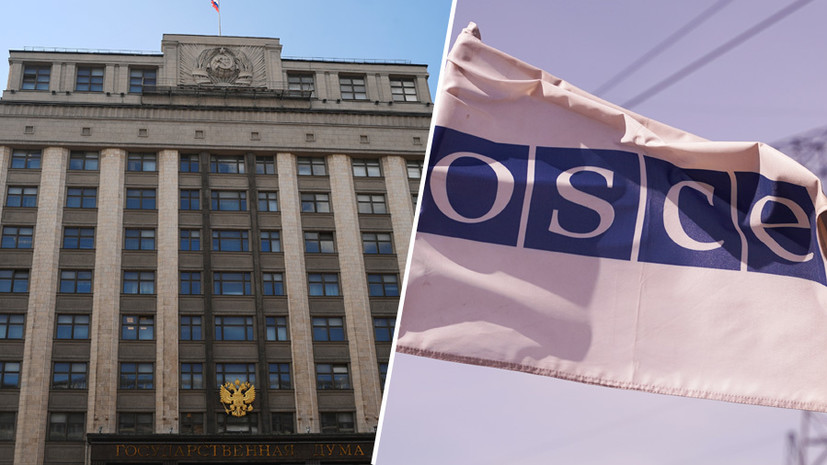 «Двойные стандарты в подходах»: в России отреагировали на отказ ОБСЕ наблюдать за выборами в Госдуму