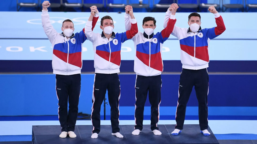 Гимнасты сборной России получат дополнительные премии за результаты на Играх