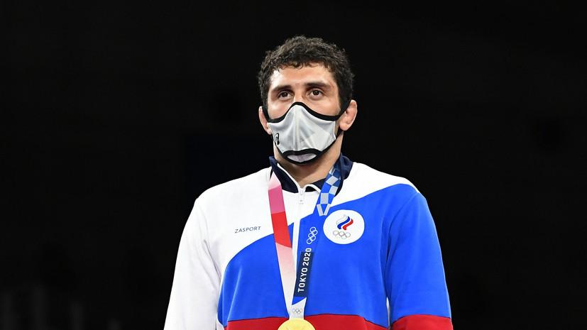 Путин поздравил борца Сидакова с победой на Играх в Токио