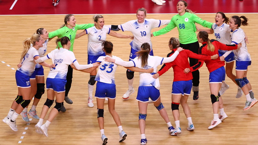 Свищёв назвал грандиозным успехом выход российских гандболисток в финал Игр в Токио