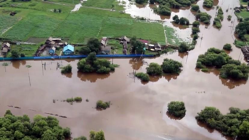 В МЧС сообщили о риске подтопления 4000 домов на Дальнем Востоке