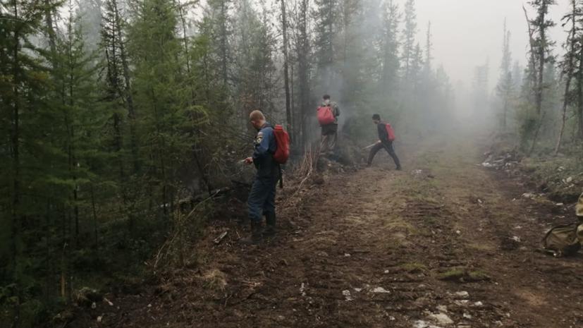 В Якутии загорелось село Бяс-Кюель