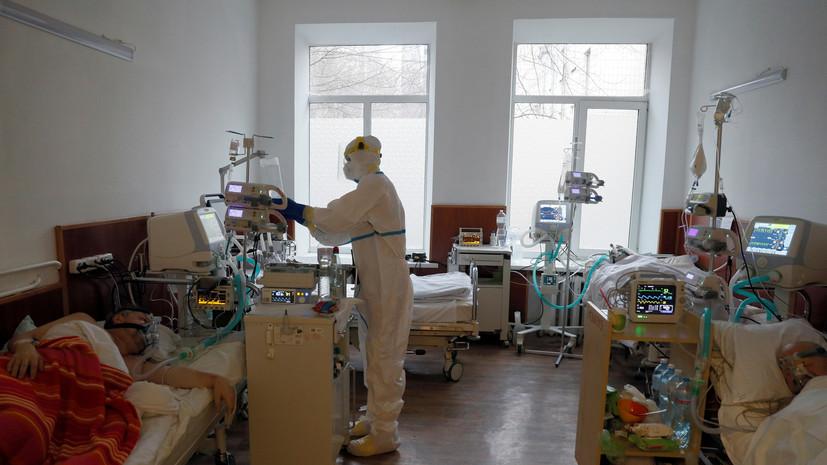 На Украине за сутки выявили 1054 случая коронавируса