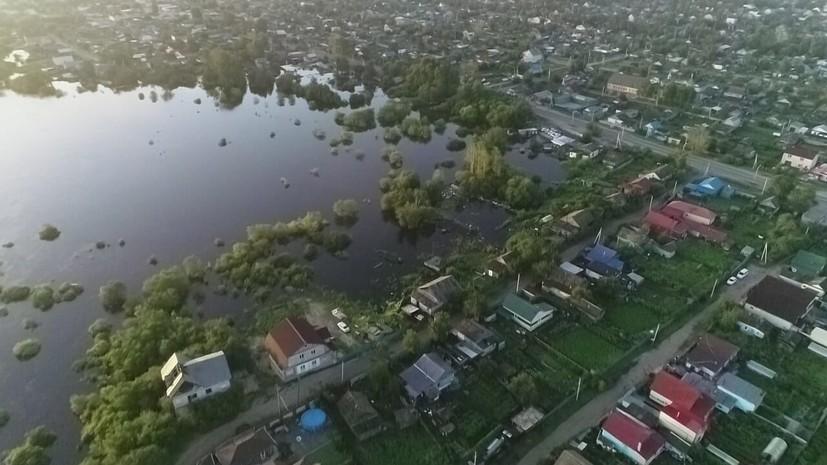 Глава МЧС изучил ситуацию с паводками в Приамурье