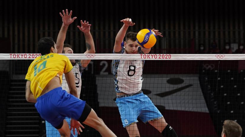 Аргентинские волейболисты победили бразильцев и завоевали бронзу ОИ в Токио