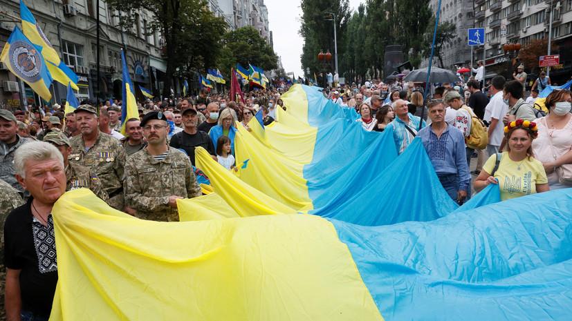 «Состояние политической среды»: почему на Украине заговорили о разделе страны