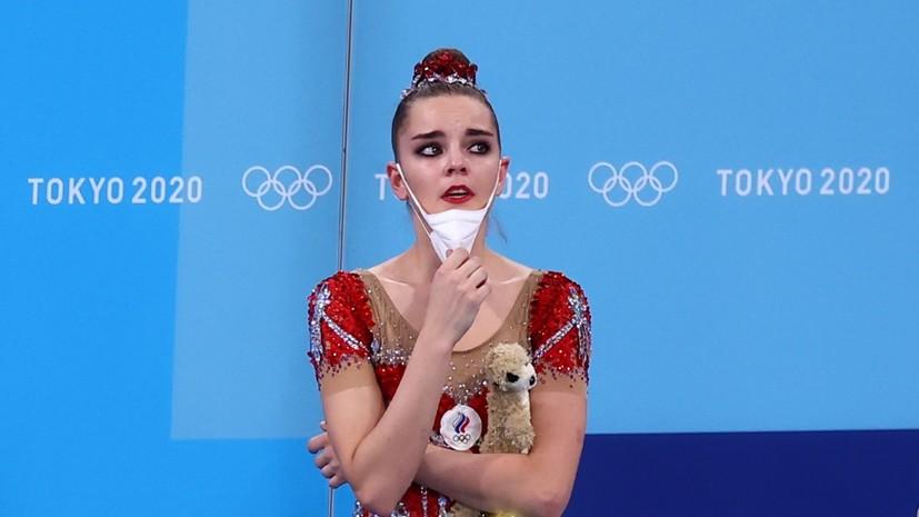 Дина Аверина подала протест на оценки в упражнении с лентой в многоборье на ОИ