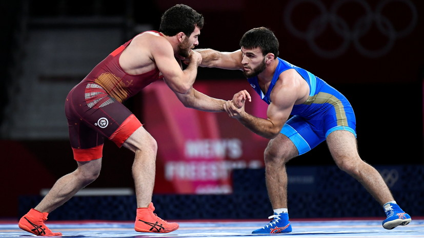 Борец Рашидов завоевал бронзу Олимпиады в весе до 65 кг