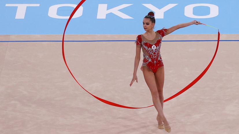 Дина Аверина заявила, что в финале многоборья на ОИ сделала всё, что могла