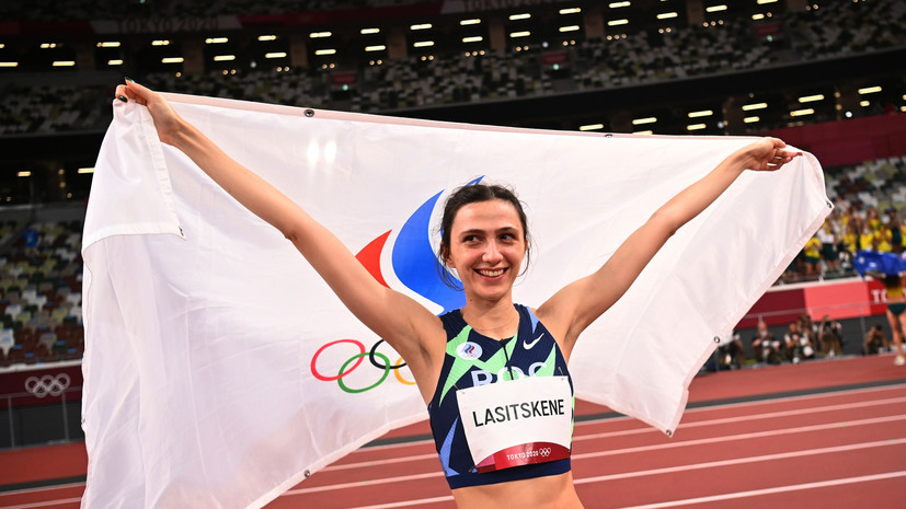 Губерниев: Ласицкене увековечила своё имя после победы на ОИ