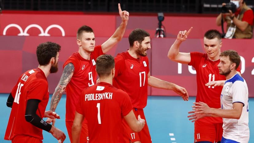 Российские волейболисты завоевали серебро на Олимпиаде в Токио