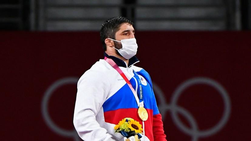 Путин поздравил борца Садулаева с завоеванием золотой олимпийской медали