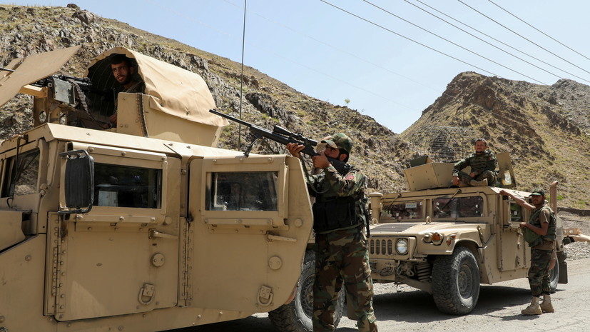 В Афганистане заявили об ударе ВВС США по талибам