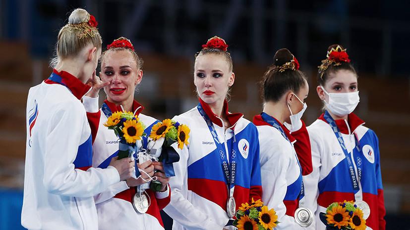Второе серебро: как Россия вслед за индивидуальным проиграла групповое многоборье на Олимпиаде в Токио