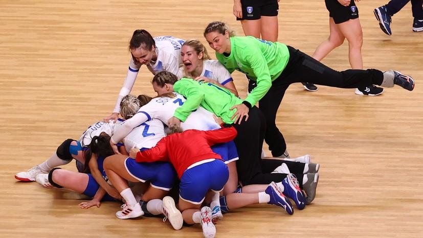 Российские гандболистки завоевали серебро ОИ в Токио