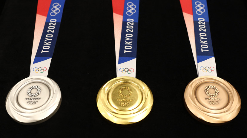 Сборная России заняла пятое место в медальном зачёте ОИ в Токио