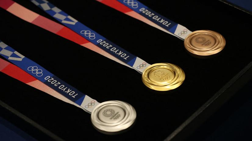 Сборная США победила в медальном зачёте ОИ в Токио